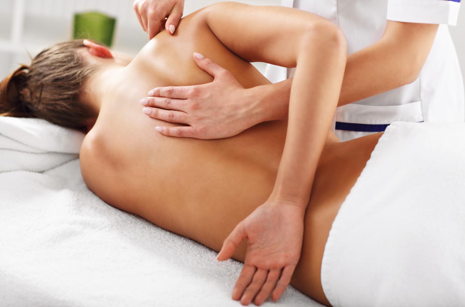 sporotvní masáž