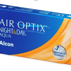 Air Optix Night and Day Aqua - Měsíční (6 čoček)