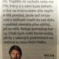 Takhle na nás mysleli v Reflexu, díky Milane.